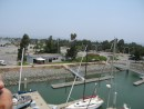 This is a view of the San Leandro Yacht Club where we will be having our bon voyage party in August.  We will be able to tie the boat up to the guest dock in from of the clubhouse so friends and family can check it out during the party.  The friendly folks at SLYC are really into parties and have already put our  party date in their newsletter.