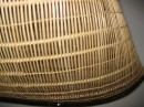 This photo shows some of the detail of one of the baskets in the previous photo.  The intricate design and workmanship is impressive but no more impressive that a tiny basked I bought for my Mom from an artist named Mama Aka on Palmerston Atoll in the Cook Islands.