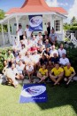 A shot of all World ARC skippers and owners after the skippers briefing in St Lucia