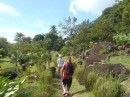 Next day, starting our walk up the Gros Piton (the other one is called the Petit Piton, but it