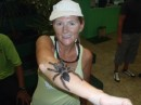 After the tour we met a lovely tarantula in the visitor