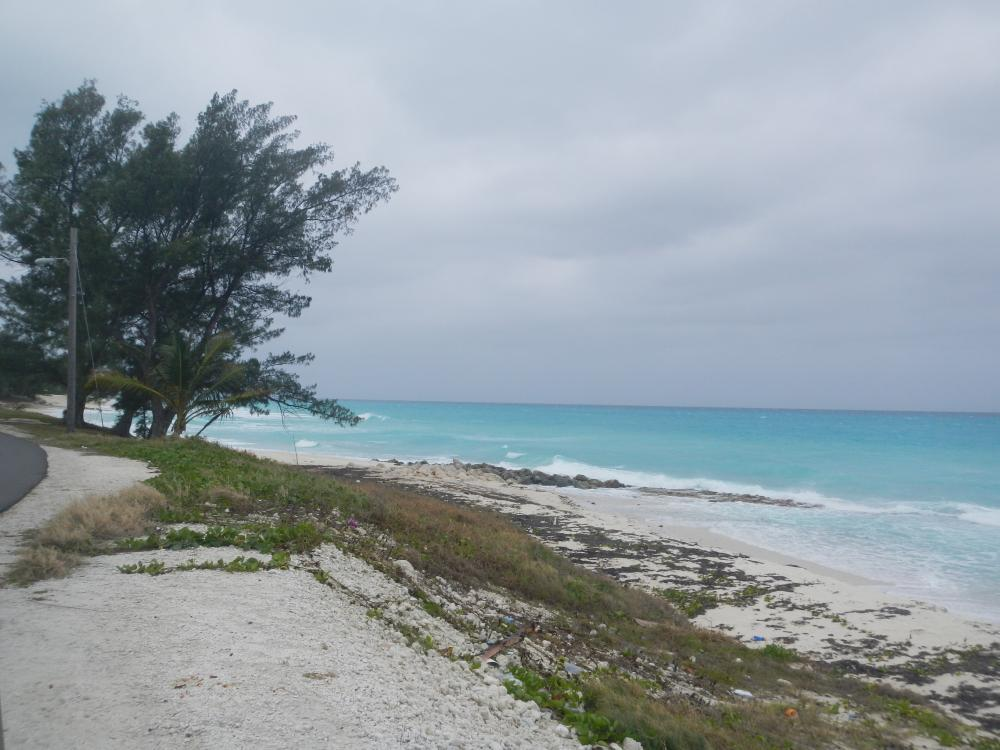 East side of Bimini is beach overlooking the Gulf Stream