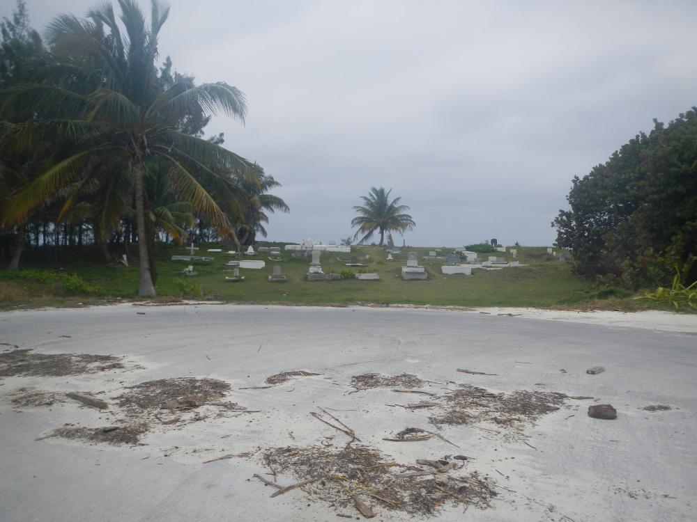 Cemetery on the south end of Alice Town, east side