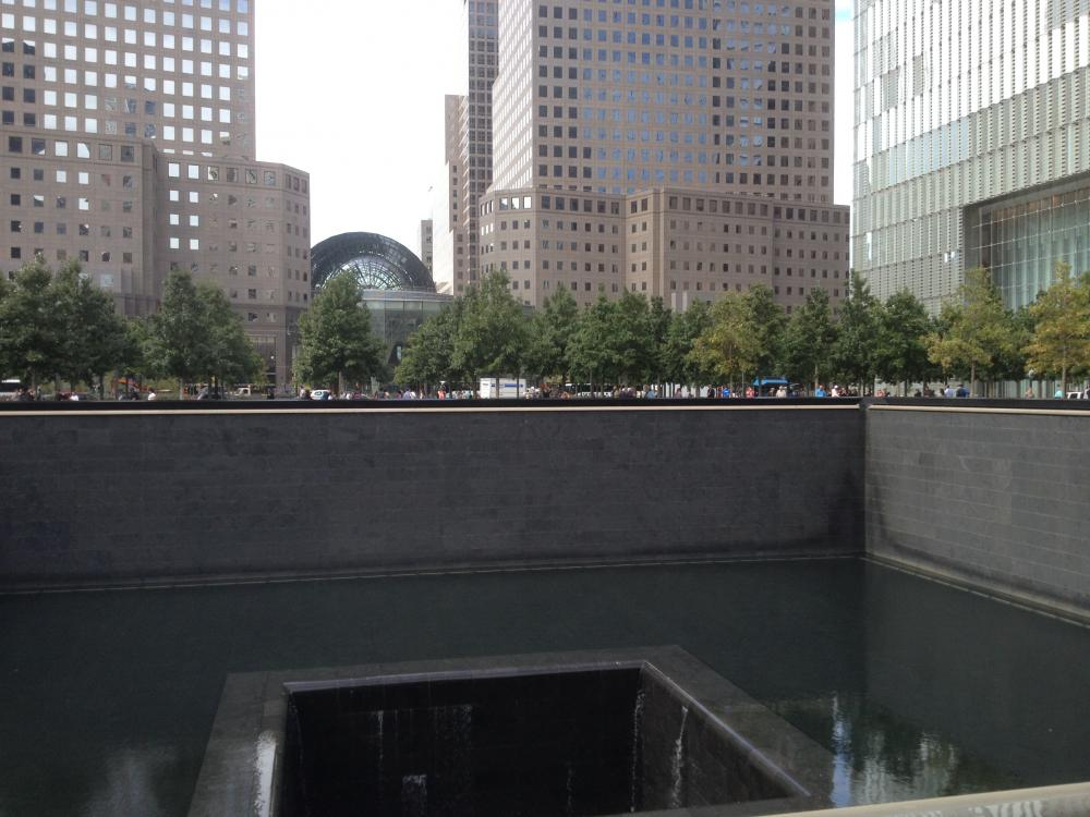 The 911 Memorial was sobering and impressive.