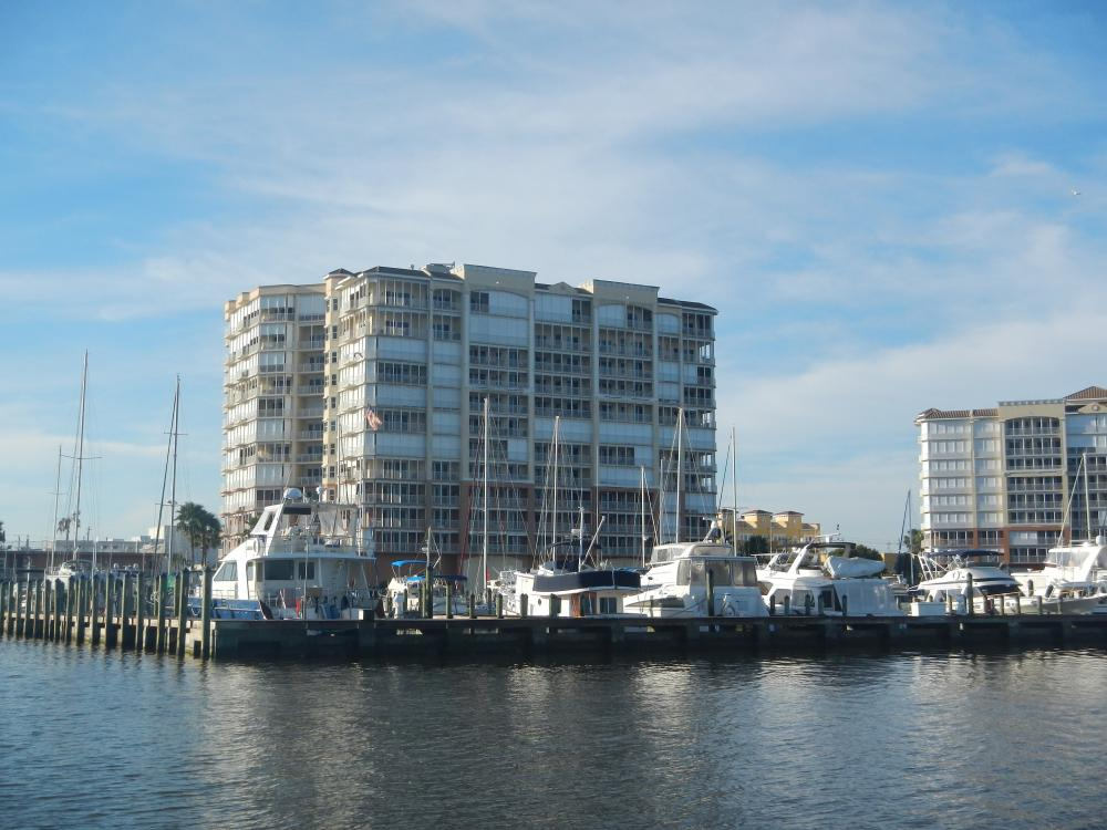 Cocoa Village Marina: This marina has a great business plan.  One can purchase a slip, which then makes you a shareholder in the marina itself.  A 40