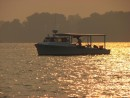 Beautiful Chesapeake Crab Boat In Early AM Light