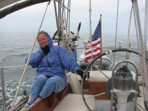 Multiple Layers And GLOVES in JUNE On Long Island Sound BRRR!! Haven