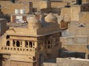 Close-ups of some of the buildings hidden in the mono-chromatic honey coloured sandstone.