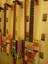 Guitars made from Castrol oil cans.