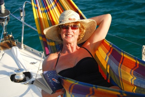Anita in the Hammock
