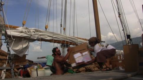 offloading in haiti