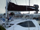 Boat 149sm: install of mainsail