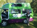 our very own Jucy camper van