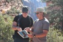 Charles and Jim learn about condors!