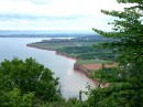 view from Blomidon Park, Annapolis Valley