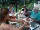 lobster feast with Bob and Mary Lou (Cygnus)