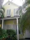 Key West house with shutters