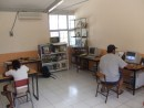 The computer room at Colimilla school.