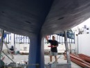 Ma antifouling: Putting on the 2nd coat