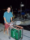 Argostoli fuel trolley: Getting diesel - the Ionian way