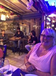 Enjoying Turkish music in Bodrum