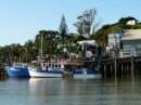 Mangonui is a quaint fishing village with an artsy twist. We enjoyed the small craft shops and watching the locals off loading catches while the visitors trying their luck at fishing off the docks!