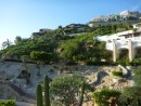 expensive homes atop hills just outside of Cabo San Lucas