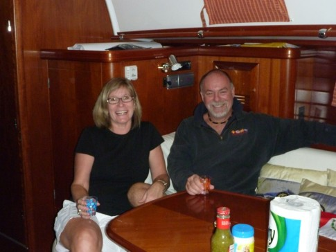 Welcome to Mike and Joanne, arrived on Paikea Mist just before the kick off party for the Baja Ha Ha!