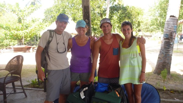 We even met up with kids of friends from home, Brian and Lindsay in Lombok.