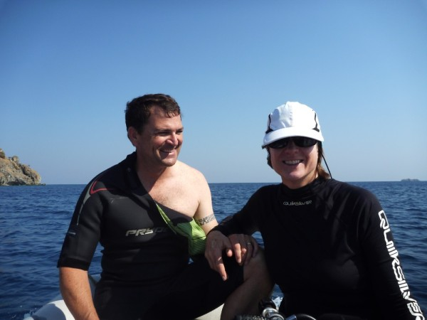 Dive time! (see photos from Diving Komodo)