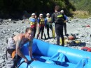 Getting the raft ready, and receiving instruction