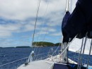 Sailing smooth seas, and 15 knots of wind- doesn