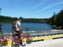 Bike ride Quadra- huge lake system