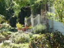 Beatiful gardens at Preston Winery
