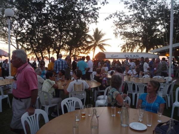 Indo Rally BBQ night at Darwin Yacht Club