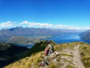 Lunch Break, overlooking Queenstown and Lake