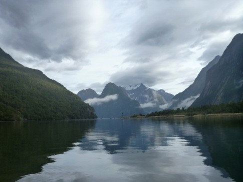 Milford Sound magic, especially when it rains and waterfalls alight everywhere!