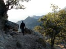 Hiking into canyon near Divisidero- early morning exploration