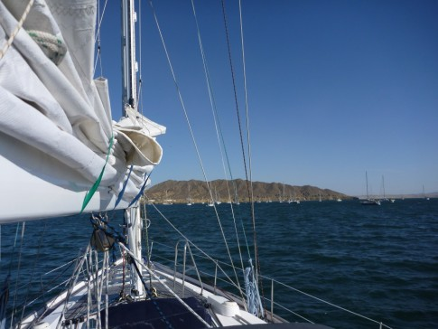 arriving at Bahia de Tortugas- Landfall- always one of the best aspects of cruising!