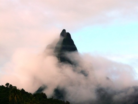 The matterhorn of Moorea