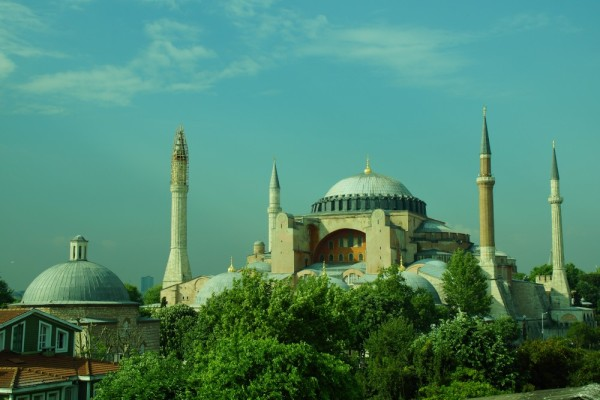 Our hotel view- The Blue Mosque