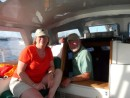 Cindy and Dick Metlor, S/V Mentor