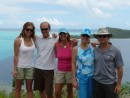 The motley crew on the 4x4 expedition: Kristine, Michael, Gloria, Alison and Allen