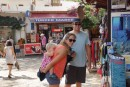 Kristine Kolby and Fynn- first days in Kas