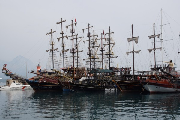Kemer pirate ships!! Too much fun!