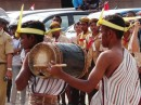 Ceremonies begin with traditional drumming