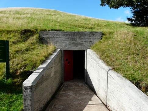 WW 2 tunnel entrance