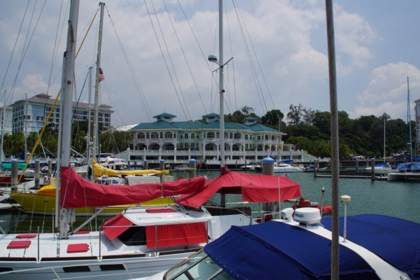 Colonial feel of Admiral Marina, what an awesome first stop in Malaysia