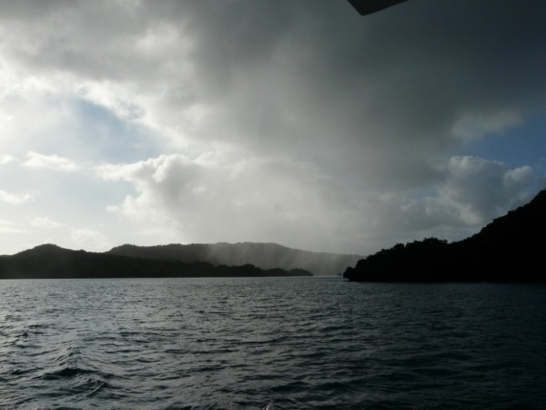 Weather behind us as we leave Bay of Islands and head to Exploring Isles.