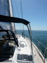 12 knots and calm seas
